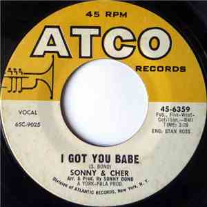 Sonny & Cher - I Got You Babe download free