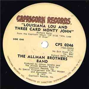 The Allman Brothers Band - Louisiana Lou And Three Card Monty John download free